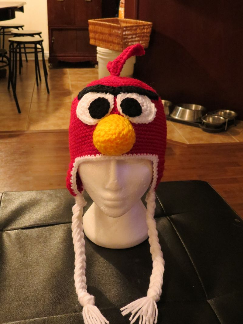 Red Angry Bird 002